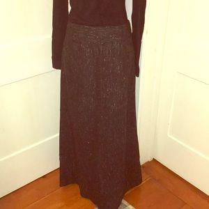 Wool Blend J Crew Maxi Skirt